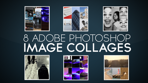 8 FREE Photoshop Image Collages by KHKreations