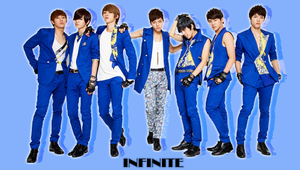 Infinite the chaser blue by KpopGurl
