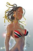 Trinbagonian Girl by 1000xPain