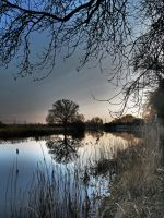 River Ouse Cambridgeshire - Late Afternoon by davepphotographer