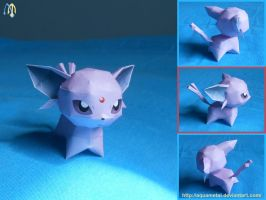 Espeon Chibi by aquametal