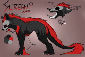 Scream Ref 2012 by SecretsSecret