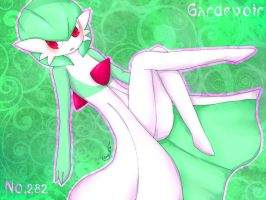 Levitating Gardevoir by divided-s