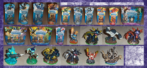 .: Skylanders Thus far :. by Dunkin-Prime