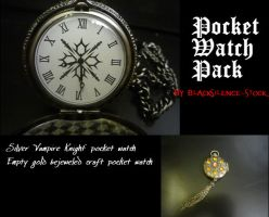Pocket Watches Pack by blacksilence-stock