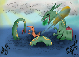 Collab- sea battle by pokebulba