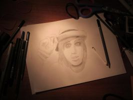 Kellin Quinn from SwS, made by: Miss-Elsie by FreeruningEmoUnicorn