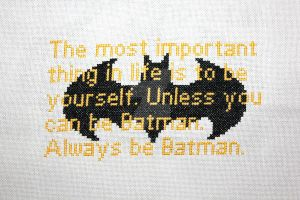 Always Be Batman by merrywether