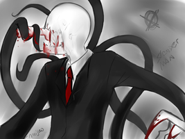 Slenderman by Misao02