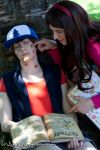 Dipper and Mabel Pines | III by Wings-chan