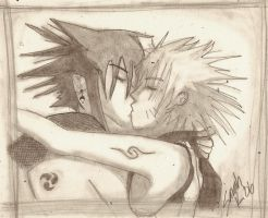 Naruto: Kiss by MsKeller