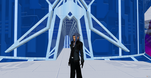 Saix,you gonna let us leave or what? by Hatredboy