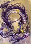 ACEO White Whiskers by Isvoc