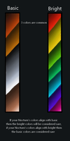 Nocturns colors spectrum by Nocturna-Imports