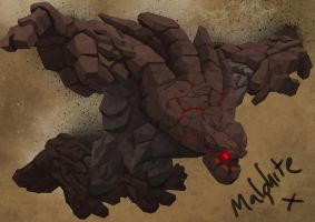 LoL Malphite (mark2) by Gracieboy