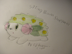 Spring Bloom Shaymin by Nijihamu-can