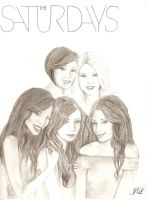 The Saturdays by snakegirl94