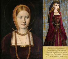 Tudor: Catherine of Aragon by HC-IIIX