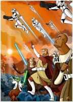 The Great Clone Wars (part 1) by DanieleRedRossini