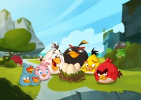 Angry Birds:Toons #1 by nikitabirds