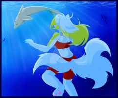 Undersea Kia .:encounter:. by KiaTheWolf