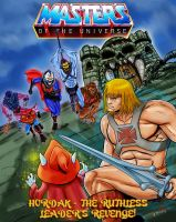 he-man and the masters of the universe minicomics by TigerArtStudio