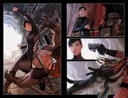 FCBD tales of honor #0 preview by calisto-lynn