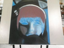 Selfportrait final WIP2 by Beccadex
