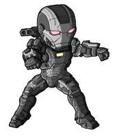 Chibi IM3 War Machine by GuyverC
