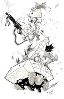 Tank Girl by TheIronClown