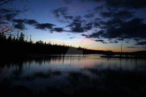 Superior Sunset by Nebey