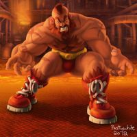 Zangief by PastyWhite