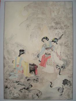 my Chinese painting by snowitchie