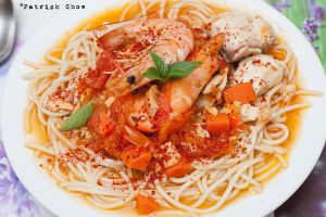 Seafood pasta by patchow