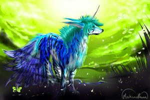 Art Trade: Shalien by MischievousRaven