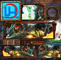 Graves Twister Fate HUD League of Legends by LeagueOfHud