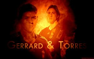 Gerrard and Torres by HelterSkelter33