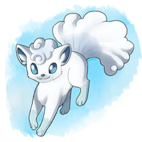 Alola Vulpix by Quarbie