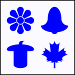 Vector Swiss-German Inspired Card Suit Symbols by LilFluff