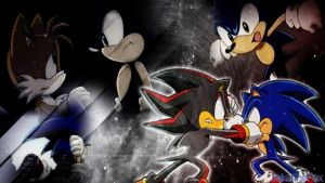Sonic:Tails:Shadow by DarkSonic132456