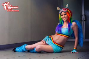 Rainbow Dash MLP Cosplay by Tiffany Dean by BabyGirlFallenAngel