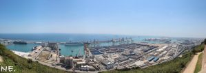Barcelone Port - Panorama by nemecle