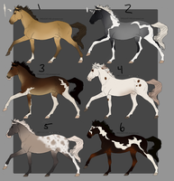 Horse Adopts Batch 1: OPEN by joesse