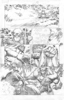 Hulk Pencils by WhilcePortacio