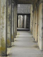 Stock: Fort Casey Walkway by Stock-By-Michelle