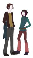 KotRT Descendants - Victor and Justine by Elleybug