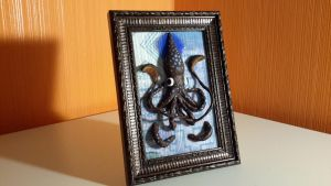 Squid in a frame by ProfBreeze