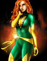 Jean Grey by SeanyP40
