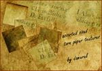 Various torn paper textures by damerel