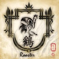 Chinese Zodiac : Rooster by MPtribe